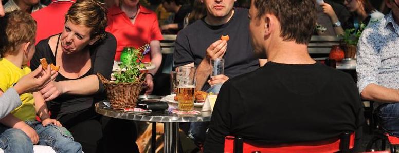 Have a drink before dinner at LEF Restaurant & Bar